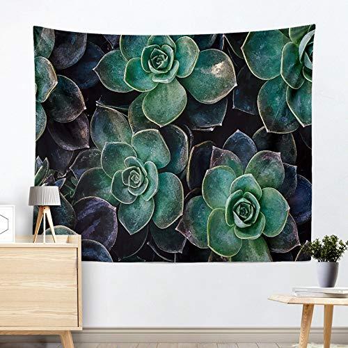 jtxqe Mode Europa und die Vereinigten Staaten hot Tapisserie hängen Tuch wandbehang dekorative Tapisserie Kaktus Tapisserie Strandtuch Kissen R005-M 200 * 150 cm