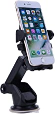 Lambent Portable Long Mount Car Stand Holder for All Smartphones/iOS Devices - Assorted Colors