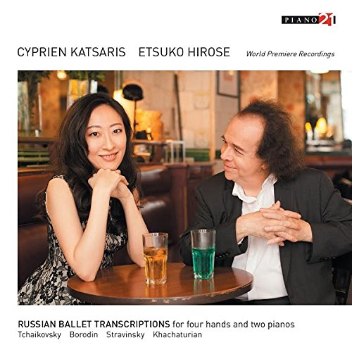 Stravinksy: Russian Ballet Transcriptions for Four Hands and - Cyprien Katsaris / Etsuko Hirose - 2017
