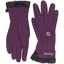 Marmot Handschuhe Fuzzy Wuzzy - Guantes de esquí para mujer, color morado, talla XS