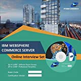 IBM WEBSPHERE COMMERCE SERVERComplete Unique Collection All Latest Inteview Questions & Answers Video Learning Set (DVD)