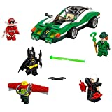 Batman Toys Building Blocks, Movie The Riddler Riddle Racer Stacking Block Sets