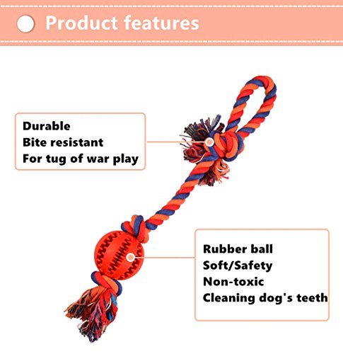 Dog-Chew-Toy-Ball-With-Rope-Strong-for-Indestructible-Aggressive-Chewers-Tooth-Cleaning-Dental-Treat-Dispensing-Interactive-Durable-Rubber-Toy