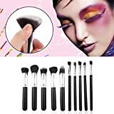OUTAD High Quality Soft Cosmetic Make Up Brush Set Woman's Toiletry Kit 10 Pcs/kit Makeup Make-up Brushes Kabuki...
