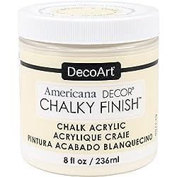 DecoArt Americana Decor Chalky Finish Paint - Whisper (8 0z)
