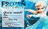 Frozen V2 Party-Einladungen, A5, 20 Stück, glänzend