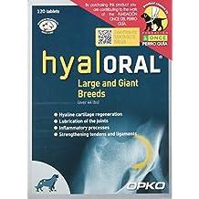 Farmadiet Hyaloral Razas Grandes y Gigantes 10 Blísters con 12 Comprimidos - Total: 120 Comprimidos