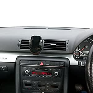 Ultimate Addons Swivel Air Vent Car Kit Mount with Adjustable Black Holder for Samsung Galaxy S3