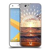 Head Case Designs Sonnenuntergang Traum Doodle Ruckseite Hülle für HTC One A9s