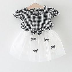 Girls Dress, Transer® Baby Girls Princess Dress 0-24 Months Toddler Kids Summer Sleeveless Pageant Dress