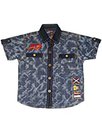 acd9c1a1e2 Denim Boys  Shirts  Buy Denim Boys  Shirts online at best prices in ...
