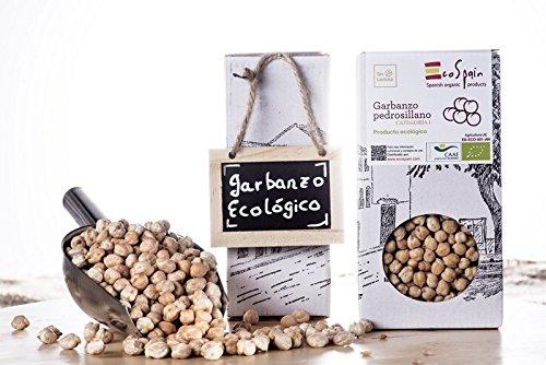 Preisvergleich Produktbild Ökologische Pedrosillo-Kichererbsen 500 gr. Vakuum-Verpackung