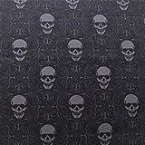 Halloween Sinister Totenkopf Premium Qualität Baumwolle
