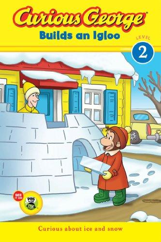 Curious George builds an igloo
