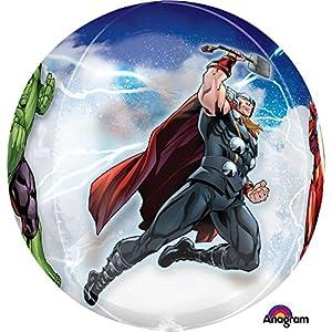 Amscan International-3466101Orbz globo en forma de los Vengadores