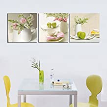 cuadro de arte pared de lienzo piezas enmarcado listo para colgar