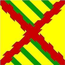 magFlags Bandera Large Tercio - Bandera de la compañía | 1.35qm
