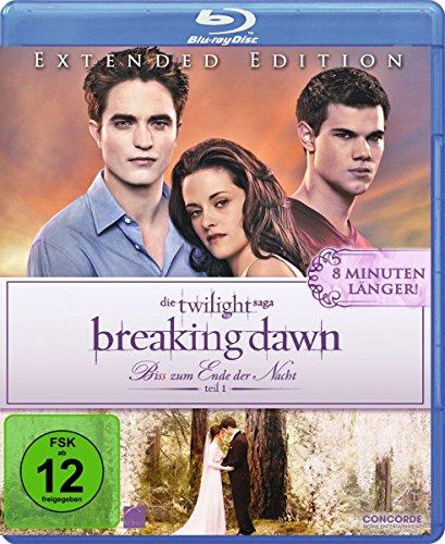 Breaking Dawn - Bis(s) zum Ende der Nacht - Teil 1 (Extended Edition) [Blu-ray] (Twilight Blu Ray)