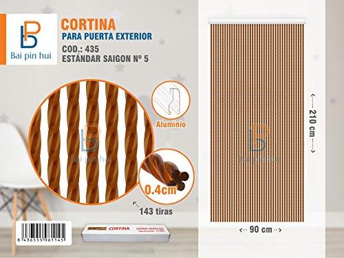 BAI PIN HUI COD.435 Cortina para puerta exterior