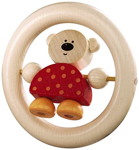 Haba Bear in the Ring Wooden Toy