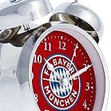 Soundwecker FC Bayern MÜNCHEN + gratis Sticker München Forever, Wecker FCB