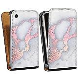 DeinDesign Apple iPhone 3Gs Étui Étui à Rabat Étui magnétique Marbre Classic...