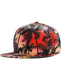 LINNUO Gorras de Béisbol Snapback Cap 3D Impreso Accesorios para Parejas  Sombrero de Vacaciones Baseball Hats 33f1b7f9133