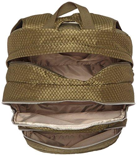 Kipling - HAHNEE - Grand sac à dos - Flamb Shell C - (Rose) Cactus Khaki Bl