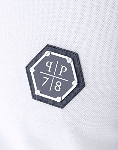 PHILIPP PLEIN - Herren Polo 78 PLEIN (HM357464) Weiß