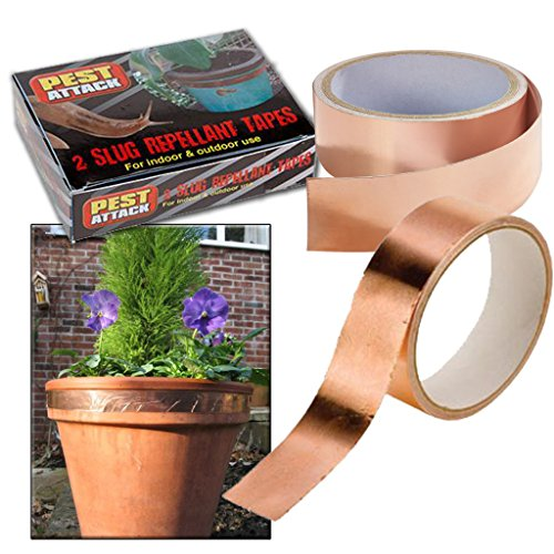 2-x-slug-snail-copper-barrier-tape-self-adhesive-repellant-roll-garden-outdoor