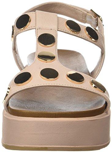 Inuovo - 7282, Laccetto alla caviglia Donna Rosa (Blush)