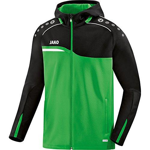 JAKO Herren Kapuzenjacke Competition 2.0 Soft Green/schwarz M