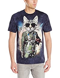 The Mountain Unisexe Adulte Tom Le Chat T Shirt