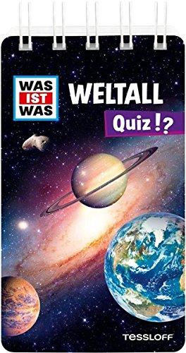 WAS IST WAS Quiz Weltall: Über 100 Fragen und Antworten! Mit Spielanleitung und Punktewertung (WAS IST WAS Quizblöcke)