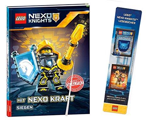 Preisvergleich Produktbild LEGO® NEXO Knights TM Mit Nexo Kraft siegen +NEXO Knights TM Lesezeichen
