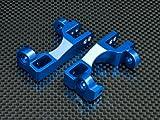 Traxxas Slash 4X4 / Stampede 4X4 VXL / Deegan 38 Fiesta ST Rally Tuning Teile Aluminium C-Hub - 1Pr Blue