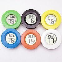 Pet LCD digitale termometro igrometro sensore sonda di temperatura e umidità Meter