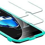 """Protector Pantalla iPhone 8/7/6s/6 [2 Piezas] [Fácil de Instalar] [Garantía de por Vida], ESR Cristal Templado 9H Dureza [3D Touch Compatible], Anti-Huella para Apple iPhone 8/7/6S/6 de 4,7"""""""