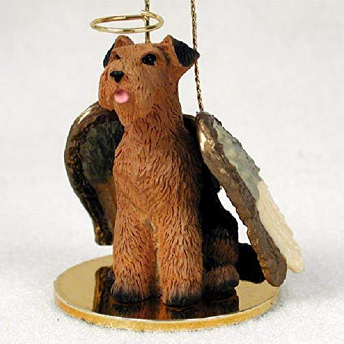 Airedale Terrier Angel Hund Ornament -