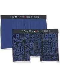 Tommy Hilfiger 1u87906070, Boxer Homme, ( lot de 2 )