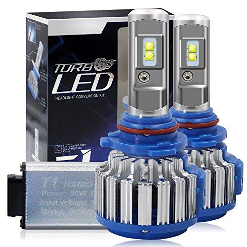 Hid Spot-beam-lampe (Winpower Cree LED-Scheinwerfer-Lampen, komplettes Umbauset - 9006 HB4 -7,200 Lumen 70 W 6000K Kaltweiß – 2 Stück)