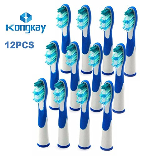 12 x ERSATZ Zahnbürste Kompatibel für Braun Oral B Sonic (3 x 4PK), kompatibel mit Oral-B Sonic, Sonic VITALITY und Sonic Complete', am selben Tag versand'