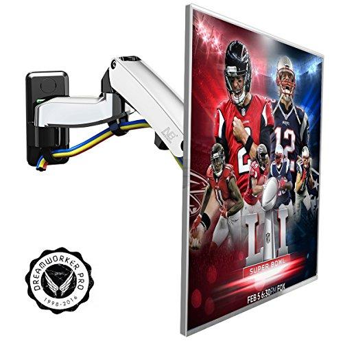 """Preisvergleich Produktbild F300 TV Wandhalterung fuer 30""""- 40"""" LED LTD Plasma Bildschirm Monitor mit Gasdruckfedergelenk: Hoehe verstellbar schwenkbar neigbar"""