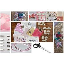 Rainbow Creations - Kit de iniciación para Hacer Lazos para el Pelo, Incluye Telas,