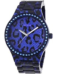 Guess Damen-Armbanduhr Analog Quarz verschiedene Materialien W0015L3
