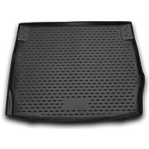 AD Tuning TMP12001 Passform Kofferraumwanne Anti-Rutsch Oberfl/äche schwarz
