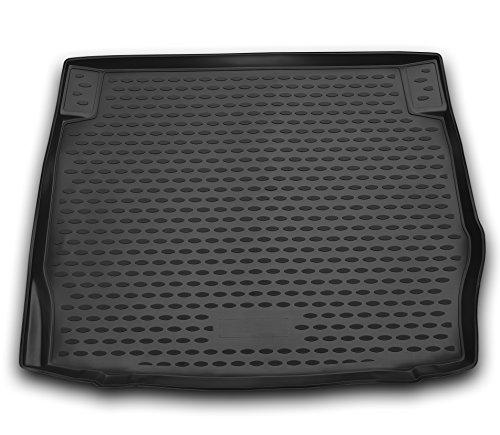 AD Tuning TMP12002 Passform Kofferraumwanne, Anti-Rutsch Oberfläche, schwarz