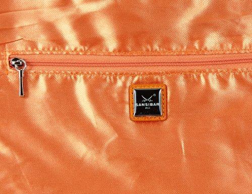 Sansibar Typhoon, Borsa a mano donna Arancione (Orange (orange))