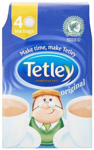 Tetley Tea, 40-Count Tea Bags (Pack of 6) by Tetley