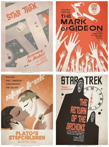 Star Trek:The Original Series Art Prints Set 13 | Online Shop